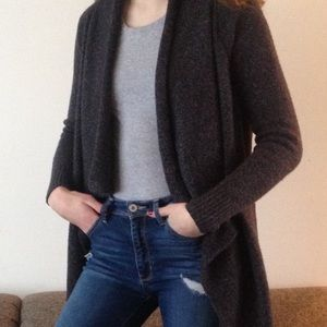 Old Navy Grey Knit Cardigan